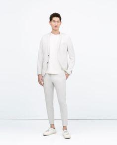 Technical Fabric Suit / Zara