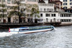 boat on the limmat