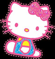 Imágenes con movimiento o gifs animados de Hello Kitty bonitos para descargar y compartir gratis, disfruta de la gatita más famosa.
