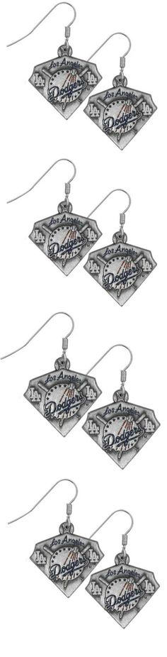 Los Angeles Dodgers Classic Dangle Earrings! Click The Image To Buy It Now or Tag Someone You Want To Buy This For. #LosAngelesDodgers