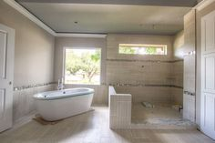 freestanding tub and walk through shower - Google Search