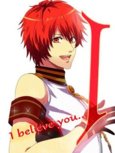 """I believe you... I"" - Otoya Ittoki"