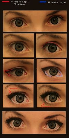 Makeup to make your eyes stand out. - Click image to find more makeup posts