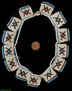 Beadwork, Jewelry Country of Origin South Africa People Xhosa Materials Beads, strings, button (mother-of-pearl) Approximate Age African Trade Beads, African Jewelry, African Crafts, African Art, Stone Jewelry, Beaded Jewelry, Africa Necklace, Ancient Egyptian Jewelry, Xhosa