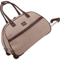 97653284f67e Anne Klein Calgary 20 inch Rolling Bowler  AnneKlein  AnneKleinLuggage   suitcase  luggage