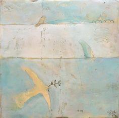 """Original Painting """"Messengers"""" Stephanie Lee"""