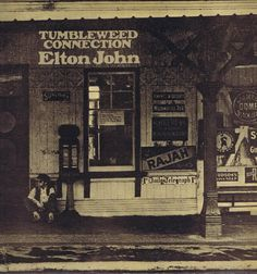 Elton John – Tumbleweed Connection – DJLPS 410 – LP Vinyl Record