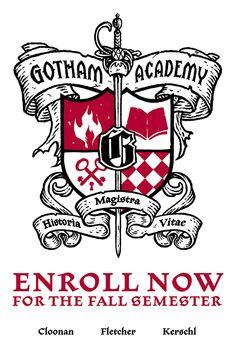 SDCC'14: Gotham Academy coat of arms spotted - Major Spoilers - Comic Book Reviews and News