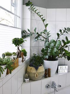 Interior DIY | Badezimmer Makeover mit Sichtschutz Plissées und Grünpflanzen | Urban Jungle Bloggers | luzia pimpinella