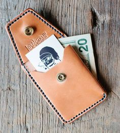 Front Pocket Leather Wallet | Have you looked at your wallet lately? Like, actually looked a... | Wallets & Money Clips