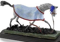 PAPIER MACHE HORSE ART