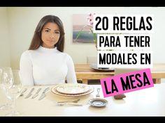 20 REGLAS PARA TENER MODALES EN LA MESA | Doralys Britto - YouTube