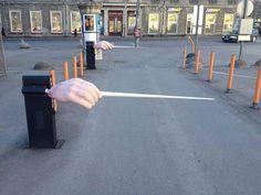 The Estonian National Opera Parking Entrance