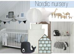 """Nordic nursery"" by sofiehoff on Polyvore"