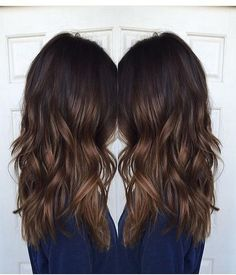 Brunette highlights ideas