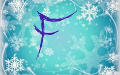 <<DIRECTLY FROM SITE>> Frozen Snowflake: F