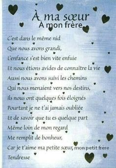 citations option bonheur panneau a ma soeur a mon frere French Poems, French Quotes, Family Relations, Quote Citation, Positive Attitude, Positive Affirmations, Quotations, Love Quotes, Encouragement