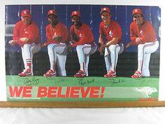 We Believe! 1987 National League Champion Cardinals.