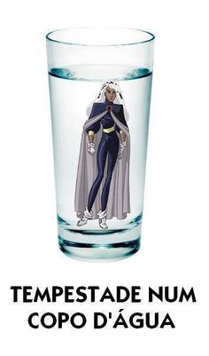 Glass of Water in Storm History Channel, Funny Cute, Hilarious, Frases Humor, Funny Comments, Marvel Vs, Funny Images, I Laughed, Haha