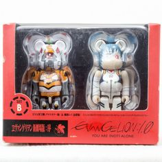 Evangelion:1.0 Be@rbrick Bearbrick Set B Rei Ayanami Figure Medicom ANIME - Japanimedia