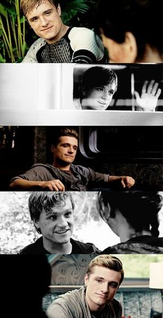 One of my favorite character of The Hunger Games movies Peeta Mallark (Josh Hutcherson). I love his smile he is so cute❤❤ Hunger Games Cast, Hunger Games Movies, Hunger Games Fandom, Hunger Games Catching Fire, Hunger Games Trilogy, Katniss And Peeta, Katniss Everdeen, Josh Hutcherson, I Volunteer As Tribute