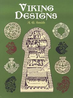 viking designs...this links to a makeup website. thank the gods for the authors name and title.