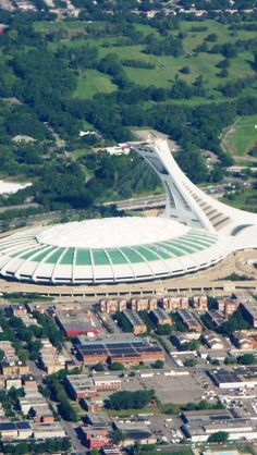 Olympic-Stadium-Quebec-Canada - visited some of the venues here. I remember all the pools and the diving area esp.