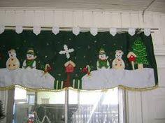 cortinas navideñas - Buscar con Google Christmas Humor, Christmas Time, Merry Christmas, Xmas, Christmas Decorations, Christmas Ornaments, Holiday Decor, December, Curtains
