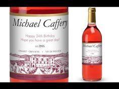 Nice Vineyard Personalised Rose Wine Check more at http://beverages.howtotube.com/vineyard-personalised-rose-wine/
