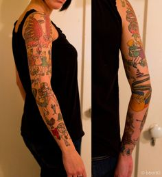 Henry Darger tattoos!