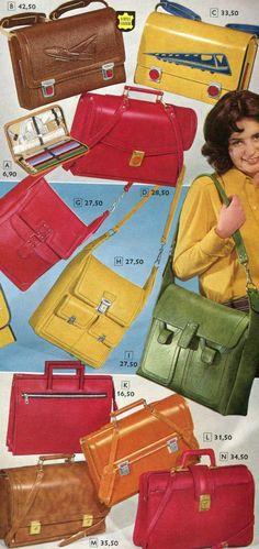 Impressionen der 70er: Handtaschen