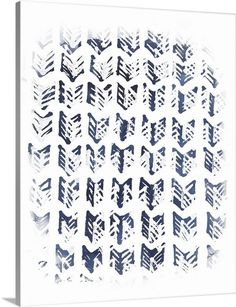 June Vess Solid-Faced Canvas Print Wall Art Print entitled Indigo Batik Vignette Viii, None Framed Artwork, Wall Art Prints, Framed Prints, Canvas Prints, Big Canvas, Blue Tones, Vignettes, Find Art, Indigo