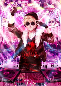 Dave Strider droppin the beat. WOW this is so epic by mariyei.deviantart.com on @deviantART