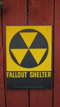 Original 1950s Cold War Era Fallout Shelter by TheOldTimeJunkShop, $32.50
