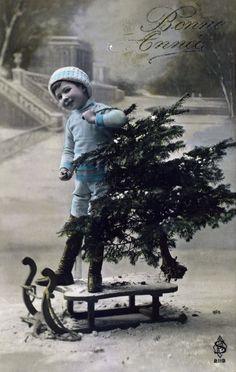 Vintage Christmas.: