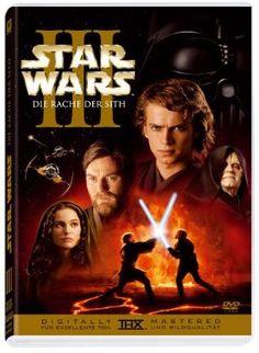 Star Wars: Episode III Die Rache der Sith  2005 USA      IMDB Rating 7,7 (270.949)  Darsteller: Ewan McGregor, Natalie Portman, Hayden Christensen, Ian McDiarmid, Samuel L. Jackson,  Genre: Action, Adventure, Fantasy,  FSK: 12