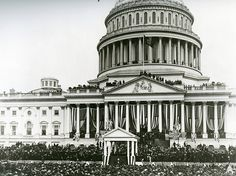 Inauguration ceremony for President William McKinley on March 4, 1901.