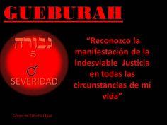 GUEBURAH. RIGOR, JUSTICIA