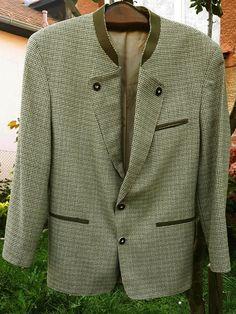 FISCHER Mens Bavarian Hunting Blazer Jacket Wool Silk size see descritption #Fischer #Blazer Double Breasted Suit, Suit Jacket, Blazer, Suits, Jackets, Fashion, Down Jackets, Moda, Fashion Styles