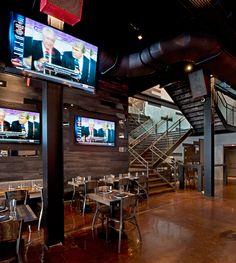 Myefski Architects   American Junkie, Hospitality, Interior, Chicago, IL.  #myefski, #modernarchitecture, #interiordesign