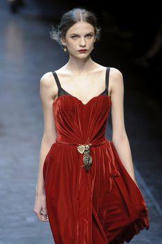 Dolce & Gabbana Fall 2010 / Velvet