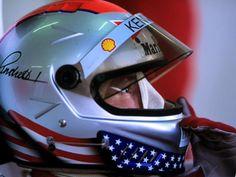 Micheal Andretti's F1 lid 1993