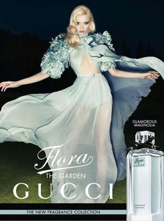 Abbey Lee x Flora the Garden - looking at this campaign already makes me wanna buy it