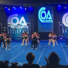 @kc_cheer_ Fierce 5 just made the whole crowd go insane here at #COAMidAmerica