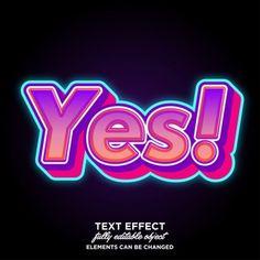 Colorful modern text style for banner and sticker Premium Vector Text Design, Logo Design, Letras Abcd, 80s Logo, Retro Graphic Design, Image Font, Typography Logo, Logos, Game Logo