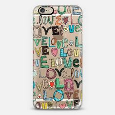 l o v e LOVE transparent phone case @Casetify #casetify #sharonturner #scrummy #love #letters #valentine #cute #sweet #heat #phone #case #transparent #clear #sassy ~ get $10 off using code: 5A7DC3