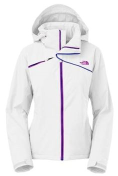 North Face Women s Scoresby Insulated Jacket in White North Face Ski Jacket 1167417fa