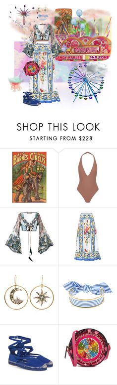 """""""Fun at the fair"""" by tatgalia ❤ liked on Polyvore featuring Cotton Candy, Alix, Roberto Cavalli, Dolce&Gabbana, Monica Sordo and Olympia Le-Tan"""