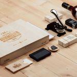 木片質感-品牌設計