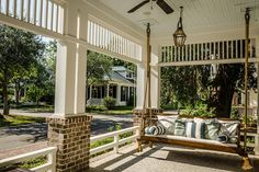 Features a swing |  Wilson Row |  Wayne Windham Architect